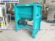 Single Shaft Paddle Mixer Powder Plastic Mixer Machine For Food Industry