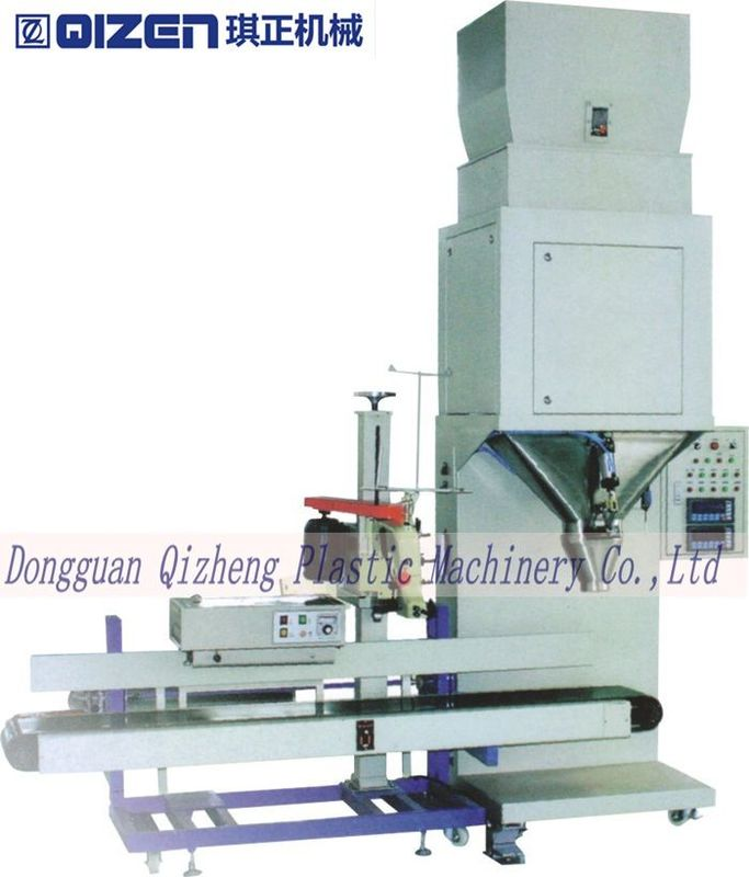 Plastic And Food Industry Automatic Weighing And Packing Machine For Granules