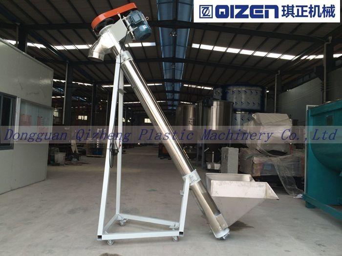 Granules / Pellets Screw Auger Conveyor , Hopper Screw