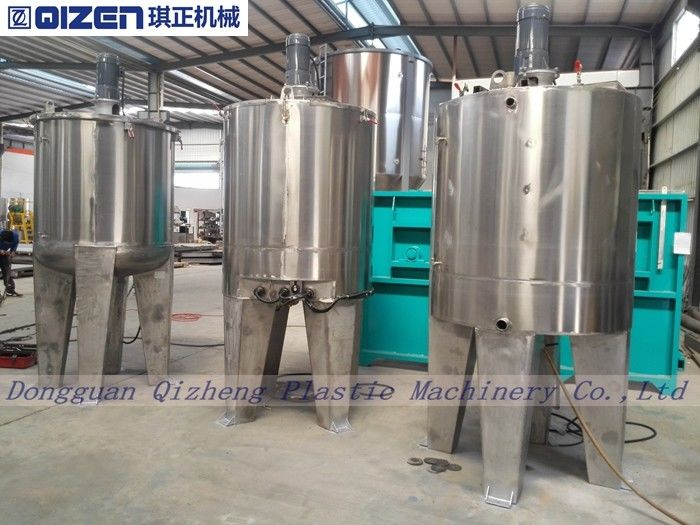 Stainless Steel Chemical Tank Mixer Adjustable Speed