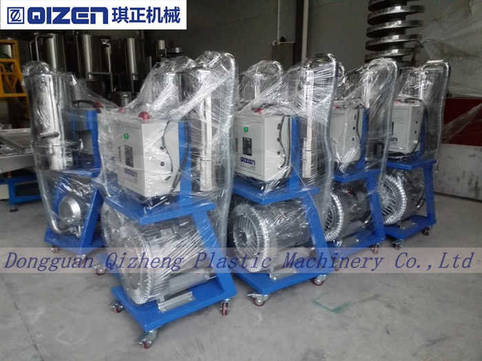 Conveying Plastic Raw Materials Vacuum Hopper Loader For Powder