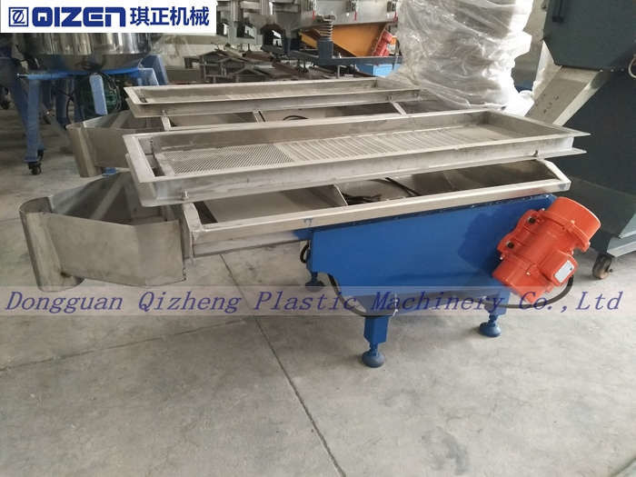 Building Material Linear Vibrating Screen Machine For Rubber Granule