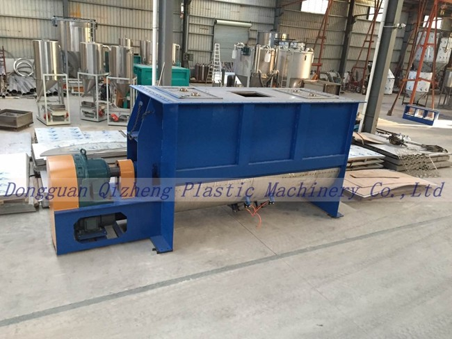 Heavy Duty Horizontal Ribbon Mixer With SS Mixing Paddle Blender