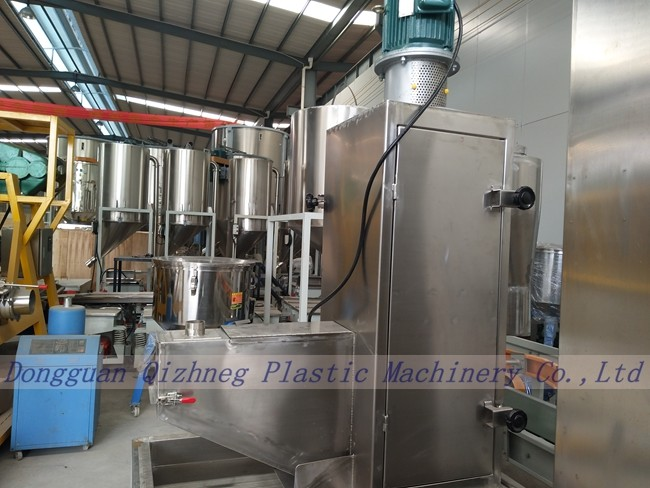 Granule Washing 98% Rate Centrifugal Dewatering Machine For Plastic Recycling