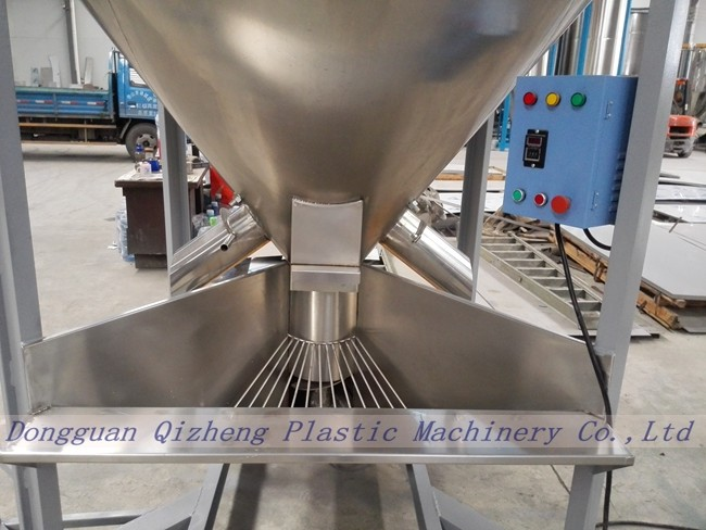Belt Driven Animal Feed Mixer Machine , Electric Motor Conical Screw