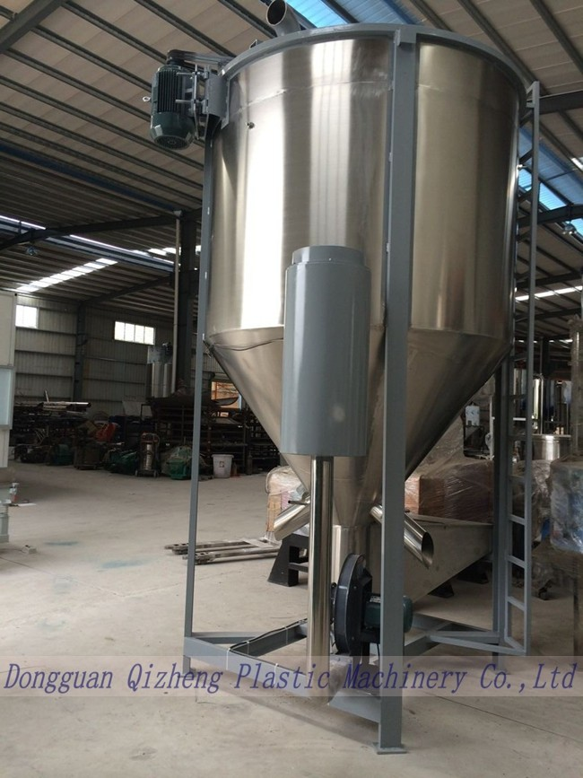 Electrical Heating Type Dry Mixer Machine With Vertical Blending Tank QZ-L3000