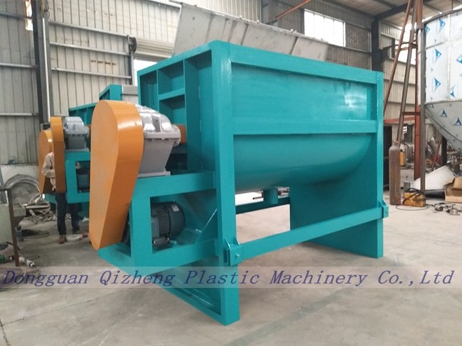 Horizontal Industrial Chemical Mixing Machine For Feed And Paint 2000KGS