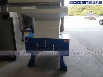 Flat Cutter Type 15HP Waste Plastic Crusher Machine For Hard And Soft Material