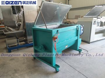 Horizontal Double Ribbon Mixer Machine , Dry Blending Equipment 10KW