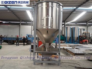 Belt Driven Animal Feed Mixer Machine , Electric Motor Conical Screw Mixer