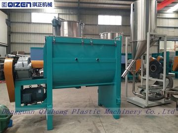 Recycled PET Plastic Granule Mixer , Plastic Color Mixer Machine Stainless Steel